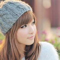 帽子をかぶったカワイイ女の子