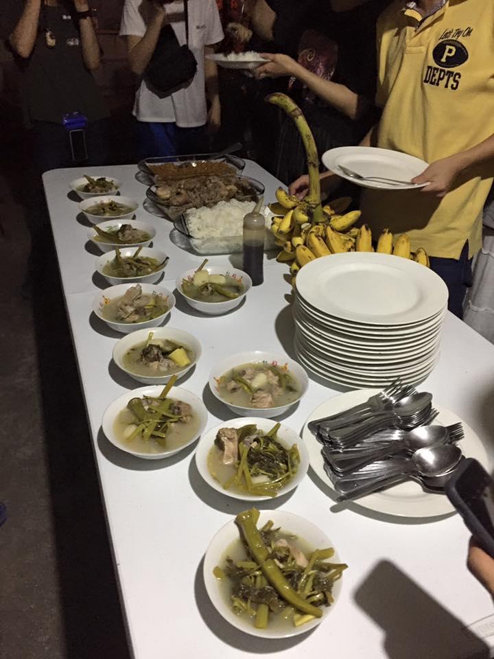 フィリピンでの料理