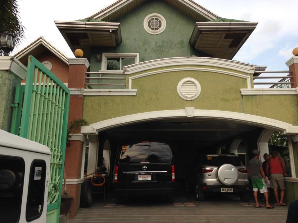 フィリピンの家