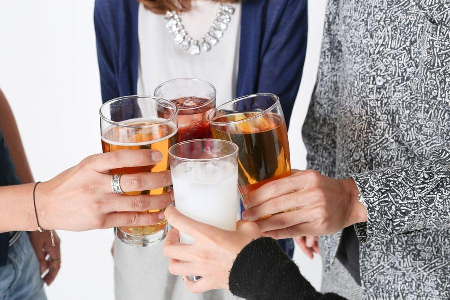 みんなで乾杯