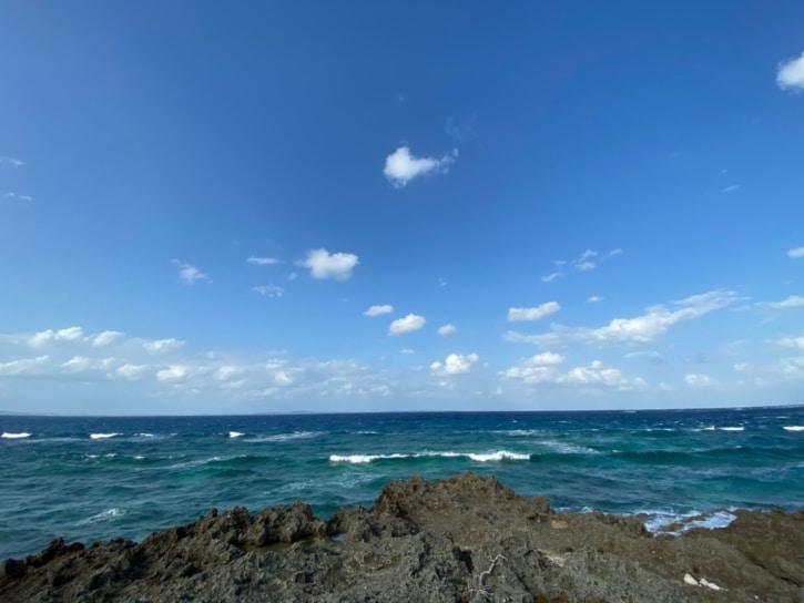 久高島の海