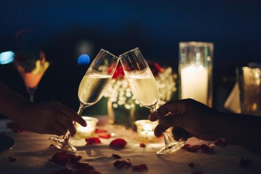 ロマンチックなデート